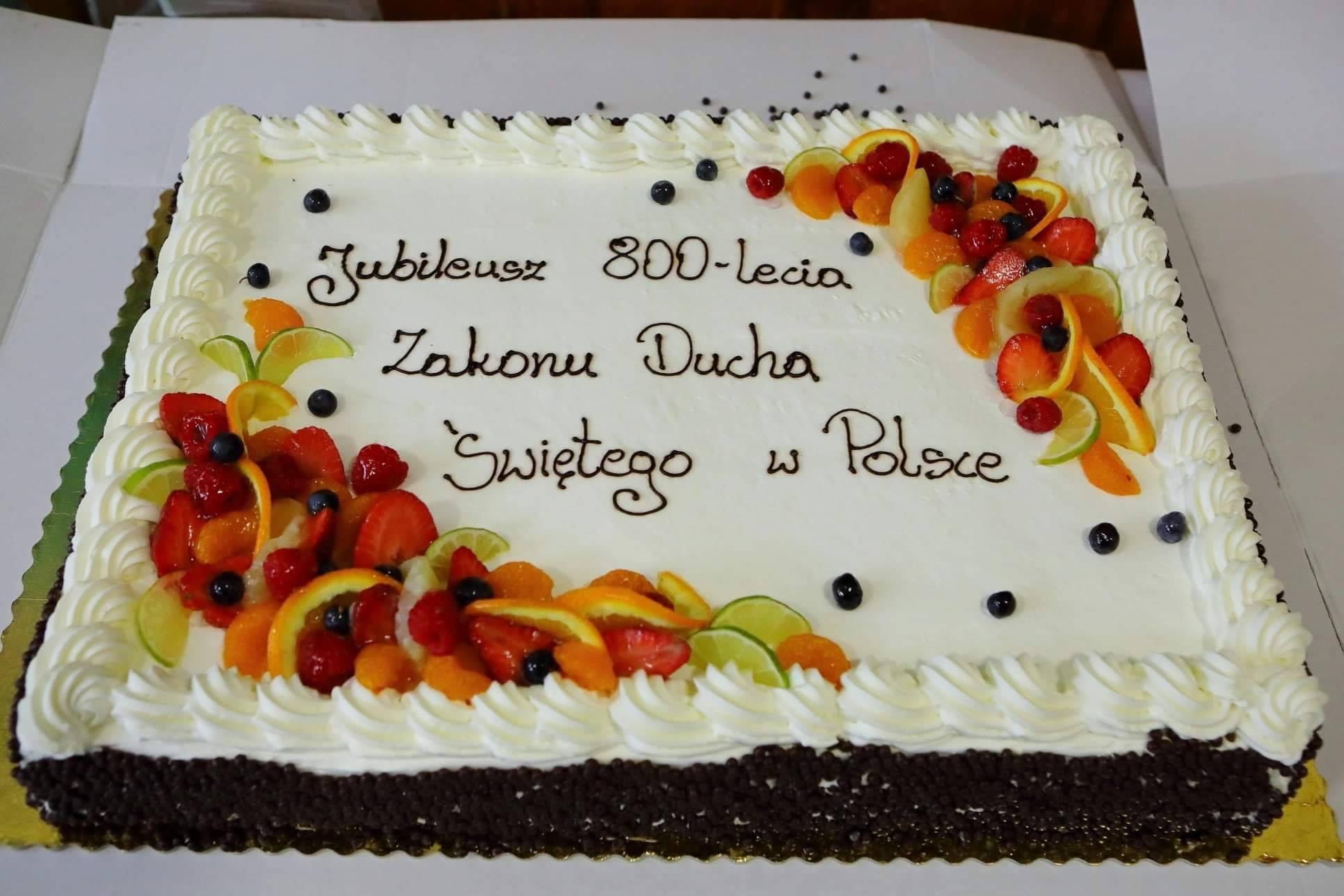 Obchody 800-lecia działalności Sióstr Kanoniczek Ducha Świętego na ziemiach polskich oraz 34. rocznica obecności Sióstr w naszej parafii.