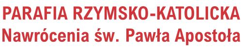 Logo for Parafia Rzymsko - Katolicka pw. Nawrócenia św. Pawła Apostoła w Warszawie