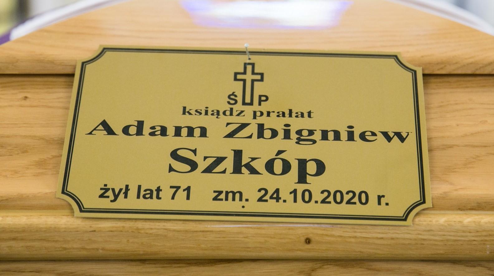 Pogrzeb śp. ks. Proboszcza Adama Szkópa