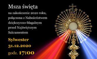 Msza święta na zakończenie 2020 roku