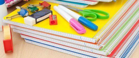 Poświęcenie przyborów szkolnych